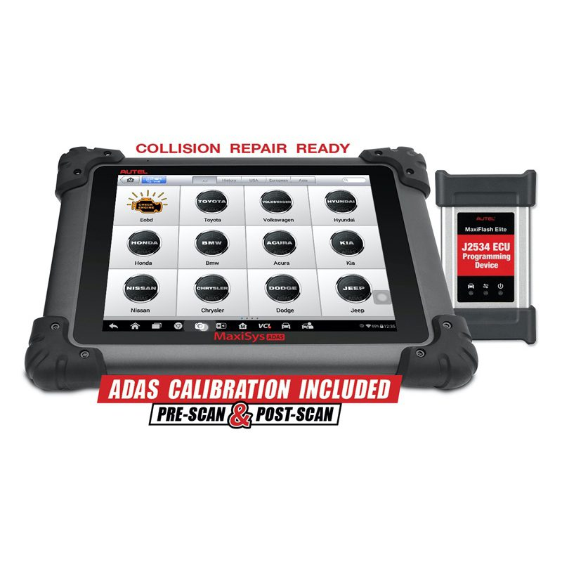 MaxiSYS ADAS Calibration and Diagnostic Tablet