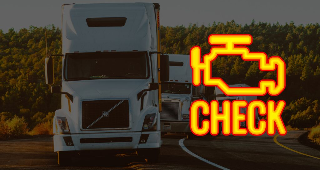 commercial trucks with check engine light