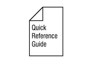 Quick Guide Reference Guide