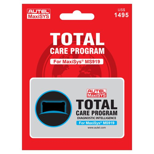 MaxiSYS MS919 1-Year Total Care Program (TCP