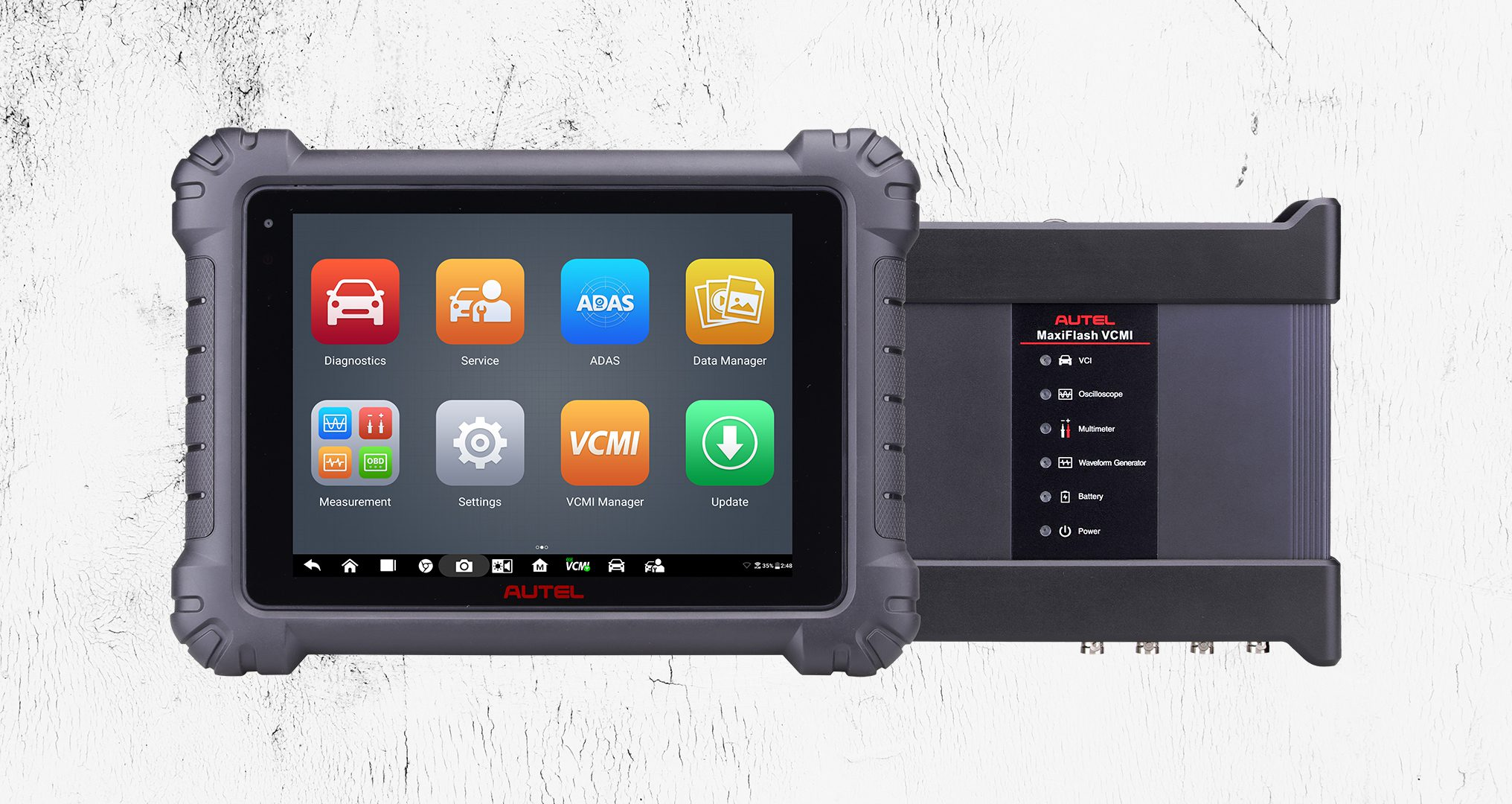 autel tablet with vcmi manager